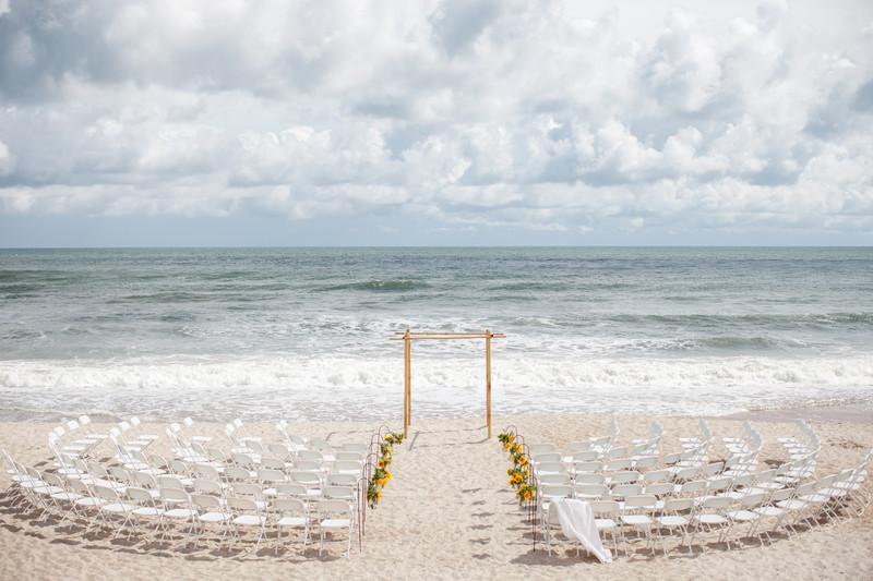 Beach House Wedding Wilmington Nc